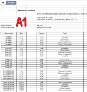 Шановні відвідувачі сайту, раді Вам повідомити розклад перегляду наших відеороликів на Одеському телебаченні: канали А1 та GNews.